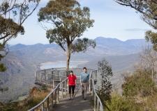 Couple at the Boroka Lookout