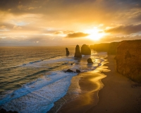 The Great Ocean Road Trip Sunset