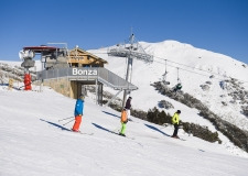 The brand new Bonza Chairlift, built in 2012